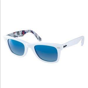 Ray-Ban Wayfarer Sunglasses Internal London Print
